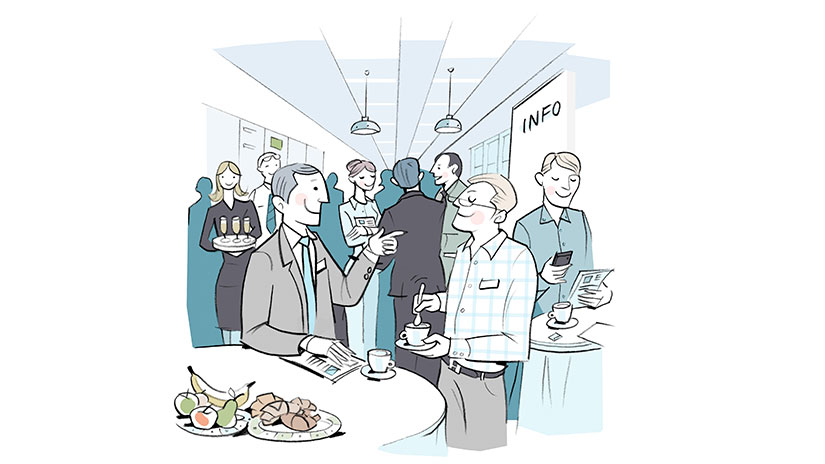 Konferenzraum mit Personen