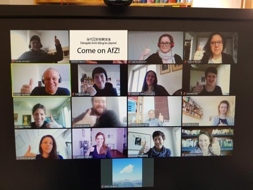 Homeoffice AfZ, Videokonferenz, Digitalisierung, Archiv, CMI