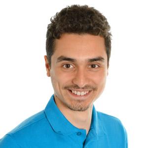 Ismail Kassem, auszubildender Applikationsentwickler bei CMI
