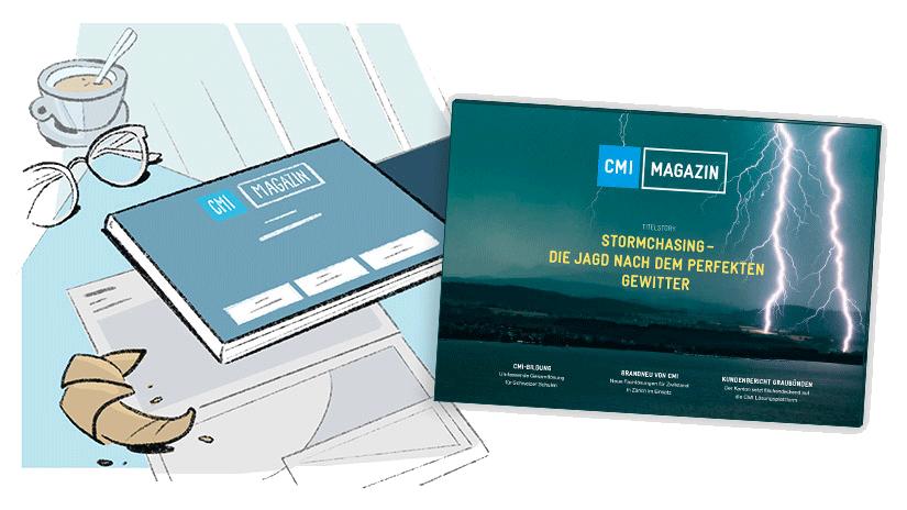 Das neue Kundenmagazin von CMI
