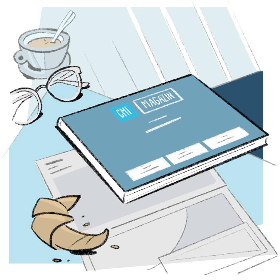neues CMI-Kundenmagazin