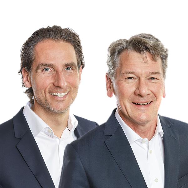 Markus Popp und Peter Baumberger