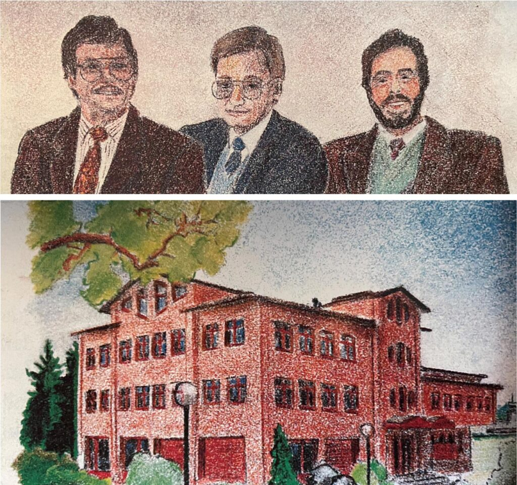 CMI Mitarbeitende nach der Gründung 1988