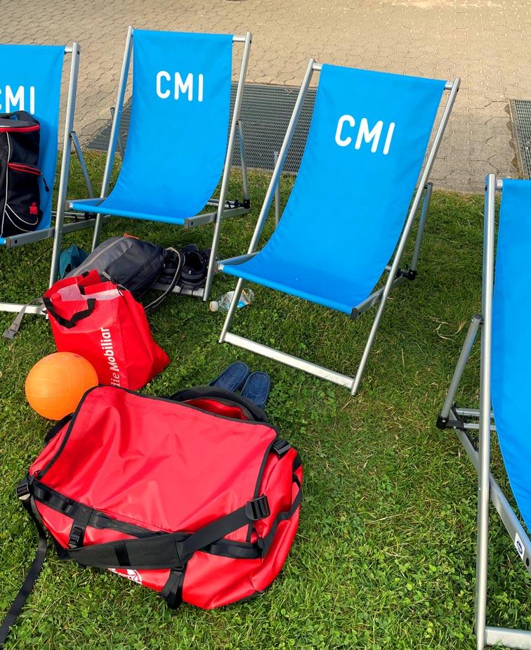 CMI als Hauptsponsor am Beachvolleyballturnier